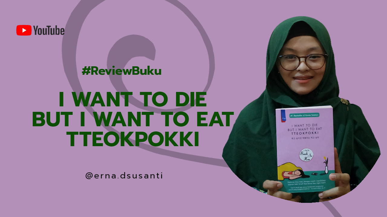 Review Buku I Want to Die But I Want Eat Tteokbokki